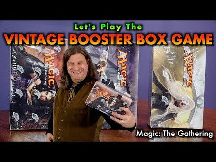 Let's Play The Vintage Booster Box Game! Innistrad - Dark Ascension - Avacyn Restored | MTG