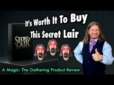 Why It's Worth It To Buy This Secret Lair | Magic: The Gathering Thing Review