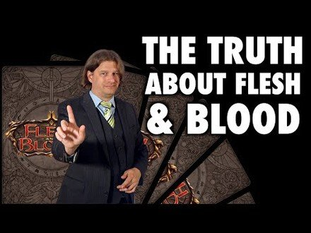 The Truth About Flesh And Blood (TCG)