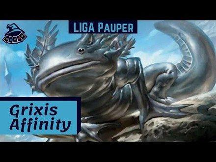 (LIGA PAUPER) Grixis Affinity! Última liga antes do ban