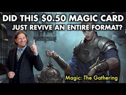 Did This $0.50 Magic Card Just Revive An Entire Magic: The Gathering Format?