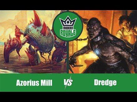MODERN | Decks: Azorius Mill VS Dredge - Modern Royale 5.05