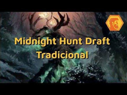 Midnight Hunt Draft: Simic Bênção (Magic: the Gathering Arena)