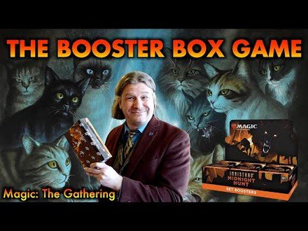 Let's Play The Innistrad Midnight Hunt Booster Box Game! | Magic: The Gathering