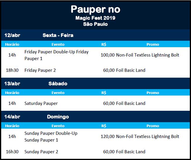 Pauper no Magicfest