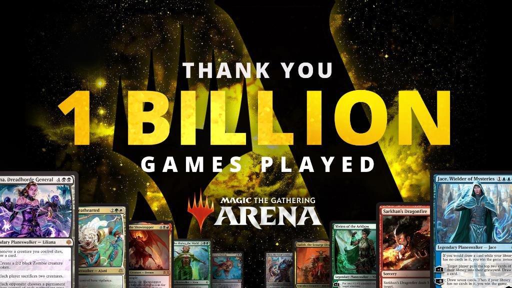 ARENA atinge 1 bilhão de partidas