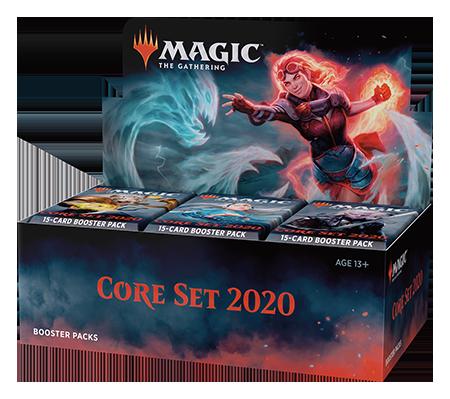 Revelados design e promos de Core Set 2020
