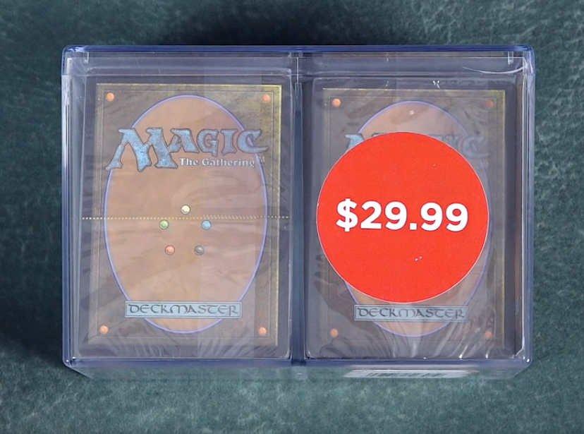 O Professor alerta sobre golpe em produto fechado de Magic em lojas