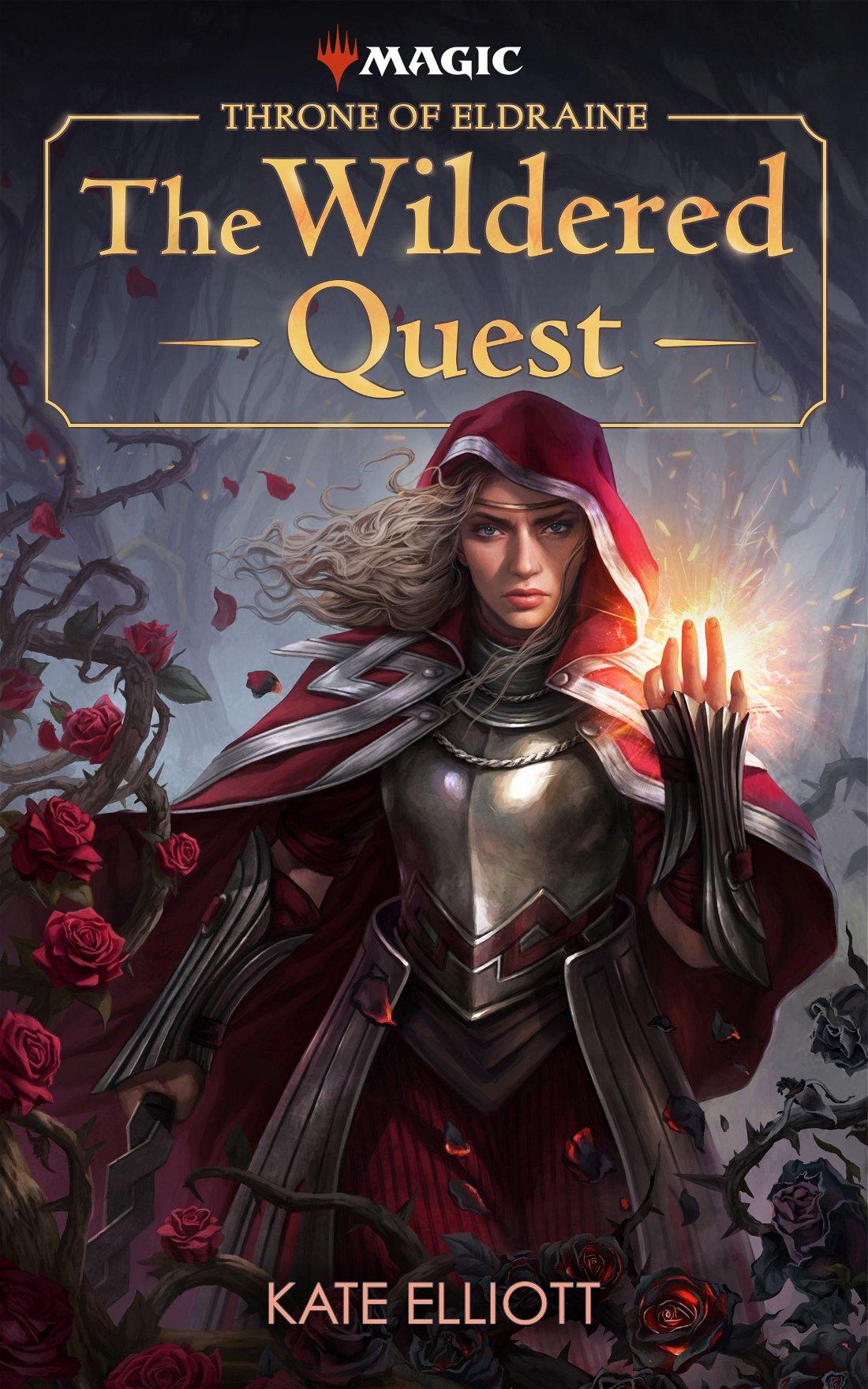 Livro Throne of Eldraine: The Wildered Quest anunciado