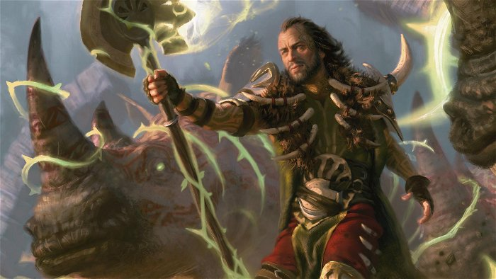 Commander 2019 Ghired, Conclave Exile: reinforcing the Primal Genesis Deck