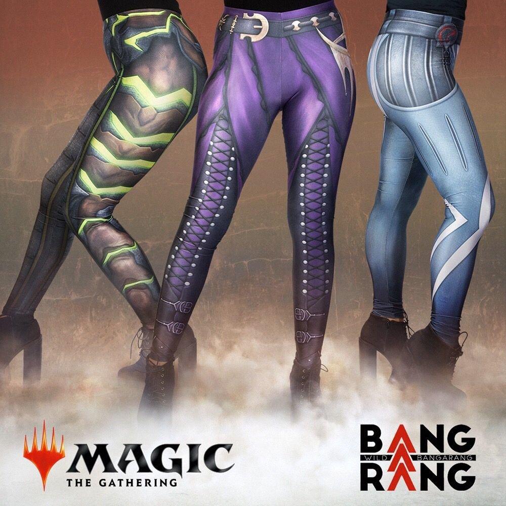 Wild Bangarang estréia vendas de Calças de Yoga Oficiais de Magic