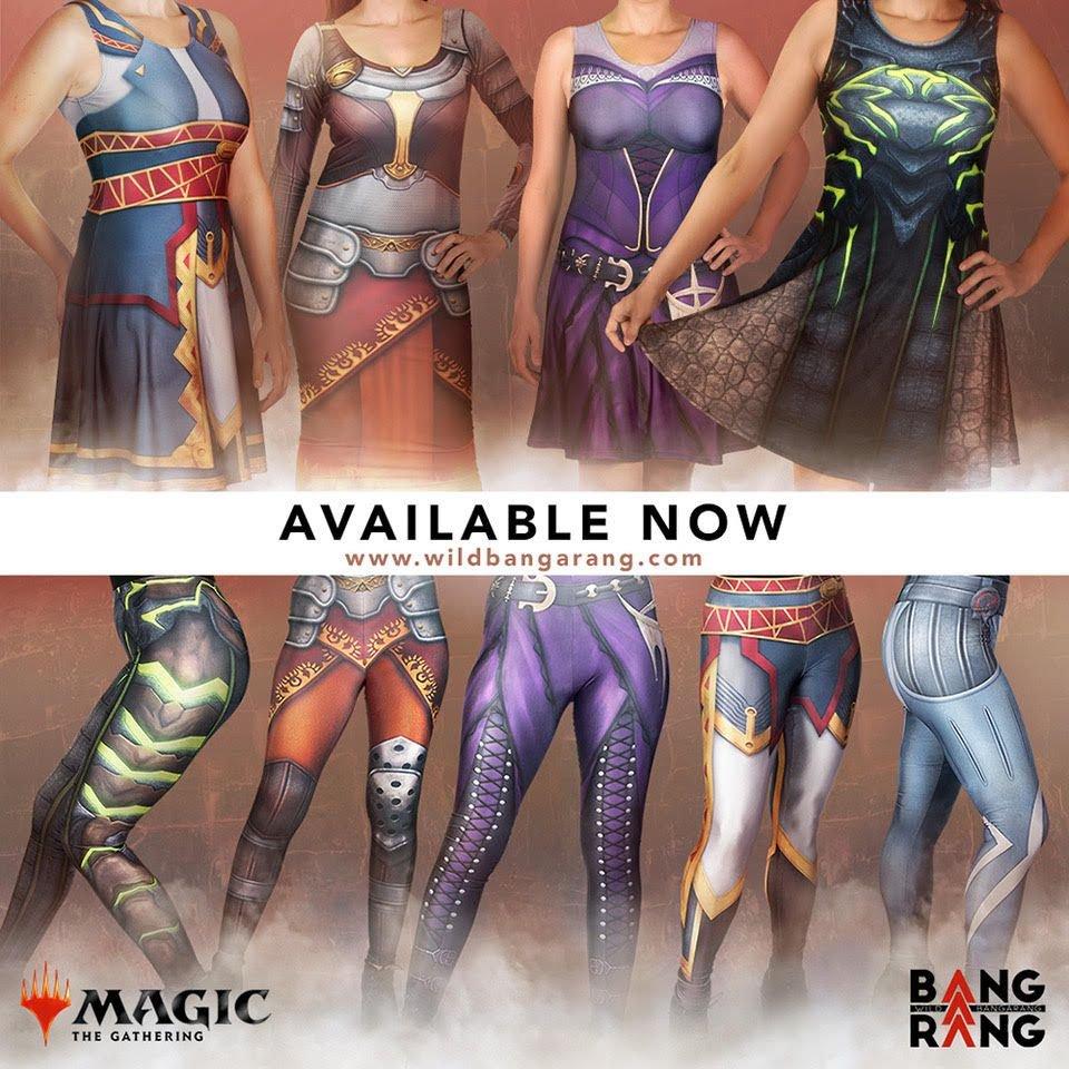 Wild Bangarang estréia vendas de vestidos Oficiais de Magic