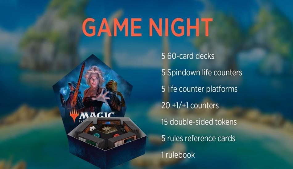 Revelados produtos Game Night 2019 & Throne of Eldraine Gift Edition