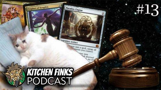 Kitchen Finks Podcast #13 - Comentando a lista de banidas do Commander