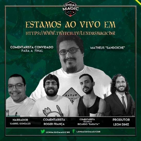 Resumo e decklists do Lendas do Magic Brasil #1
