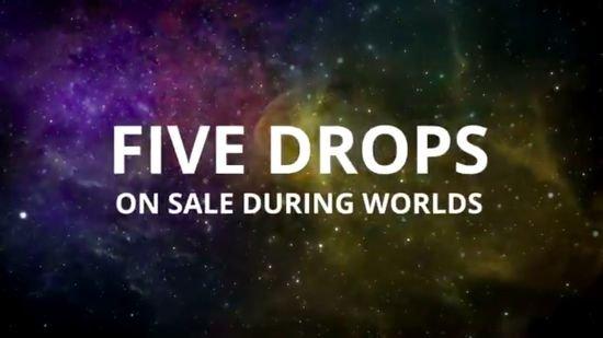 5 novos Secret Lair Drops serão reveladas no Campeonato Mundial