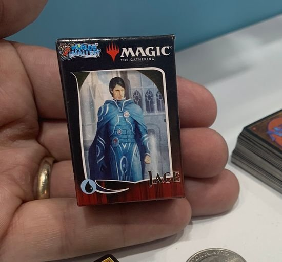 New York Toy Fair reveals the smallest Magic Duel Deck ever created