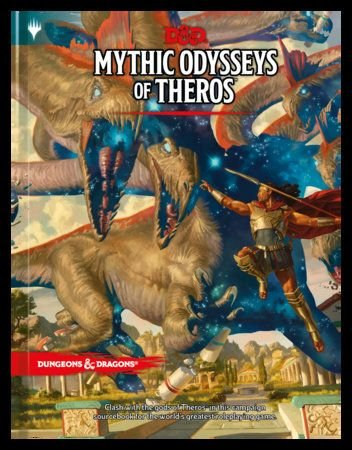 Mythic Odysseys of Theros will be new crossover between Magic and D&D