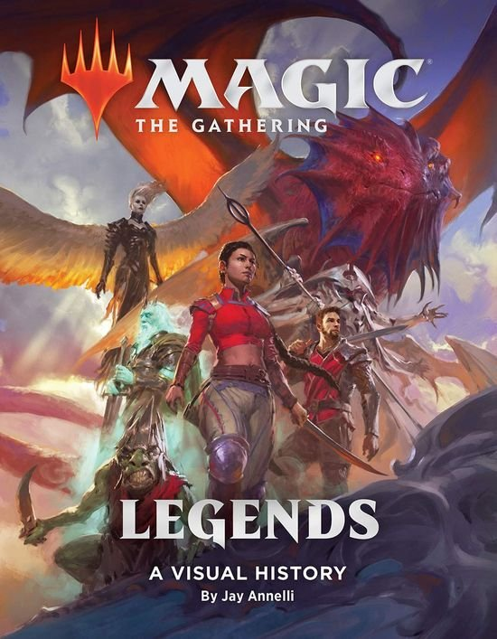 Details of the New Art Book Magic: The Gathering - Legends Revealed