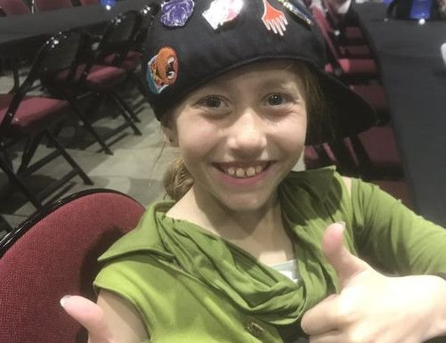 9-year-old Dana Fisher makes Day 2 at the Limited Grand Prix