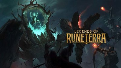 A Magic: The Gathering player view of Legends of Runeterra
