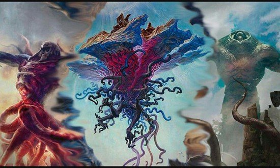 Eldrazi, the Gods of Blind Eternities