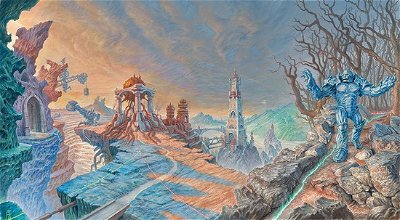 Urza's Lands and their role on the Lore