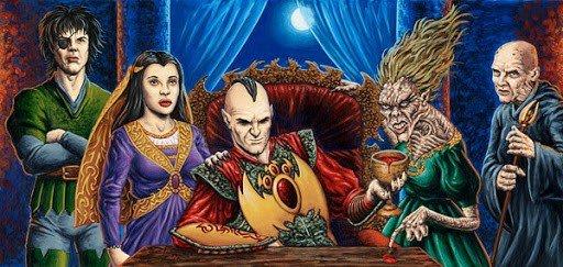 Baron Sengir and his family of the shadows