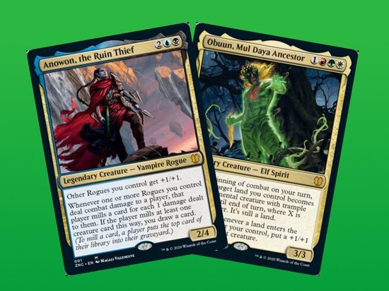 Zendikar Rising Commander's decklists