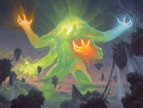 The Story of the Elementals of Zendikar
