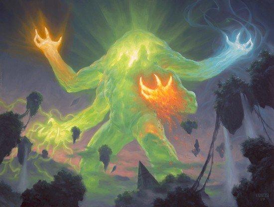 The Story of the Elementals of Zendikar