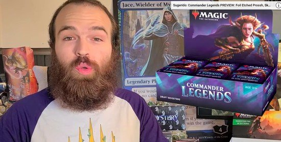 Seis pistas de cartas de Commander Legends reveladas