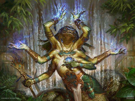 Imoti, the Cascading Rattlesnake for Commander