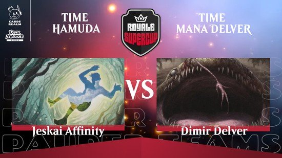 Time Hamuda sai na frente no Royale SuperCup: Pauper Teams