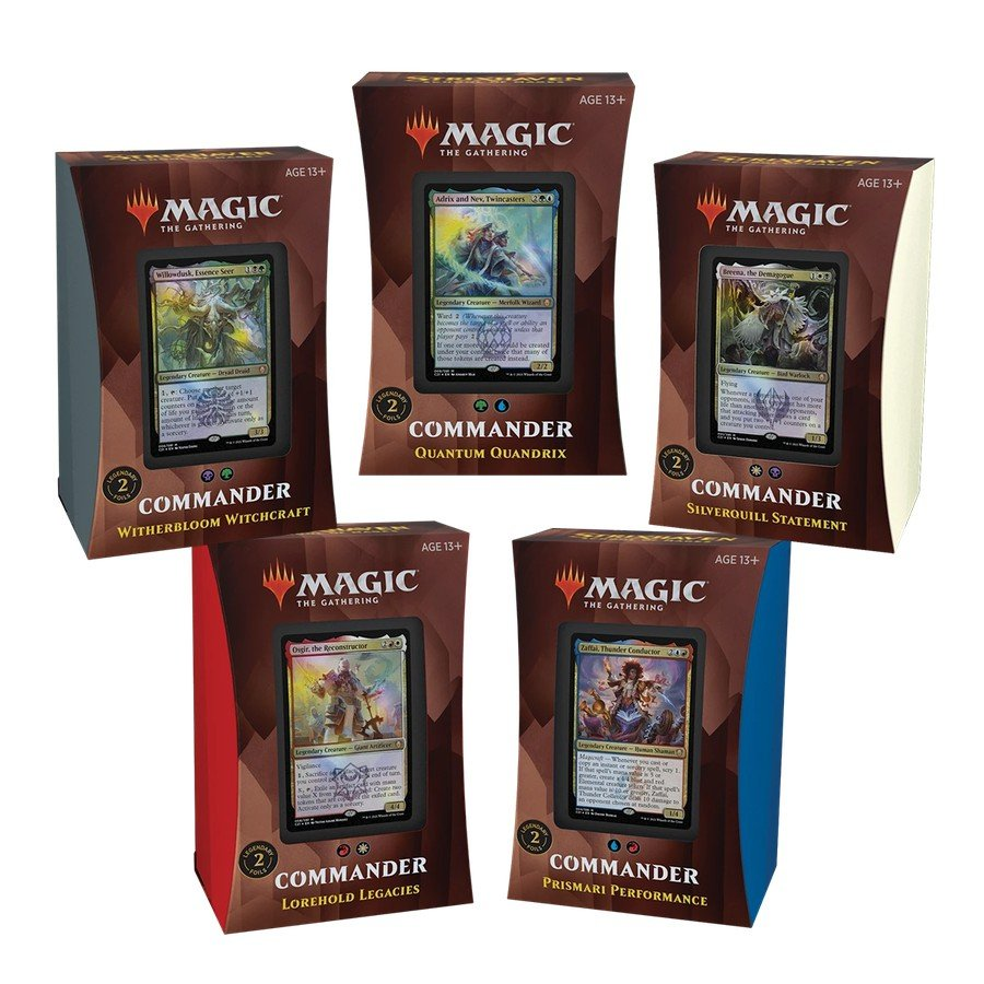 Os decks de Commander de Strixhaven