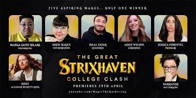 College Clash is new StrixHaven-themed comedy miniseries