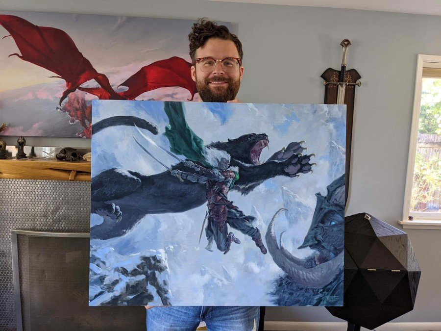 Drizzt Do'Urden illustration is sold for $155,000