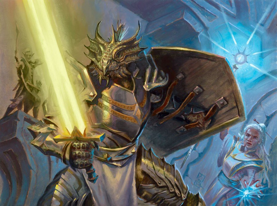 Exploring Dungeons and rolling D20 dices on Forgotten Realms' Draft