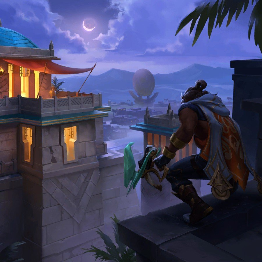 Who is Akshan, the Rogue Sentinel + Fortune Hunters Deck Tech