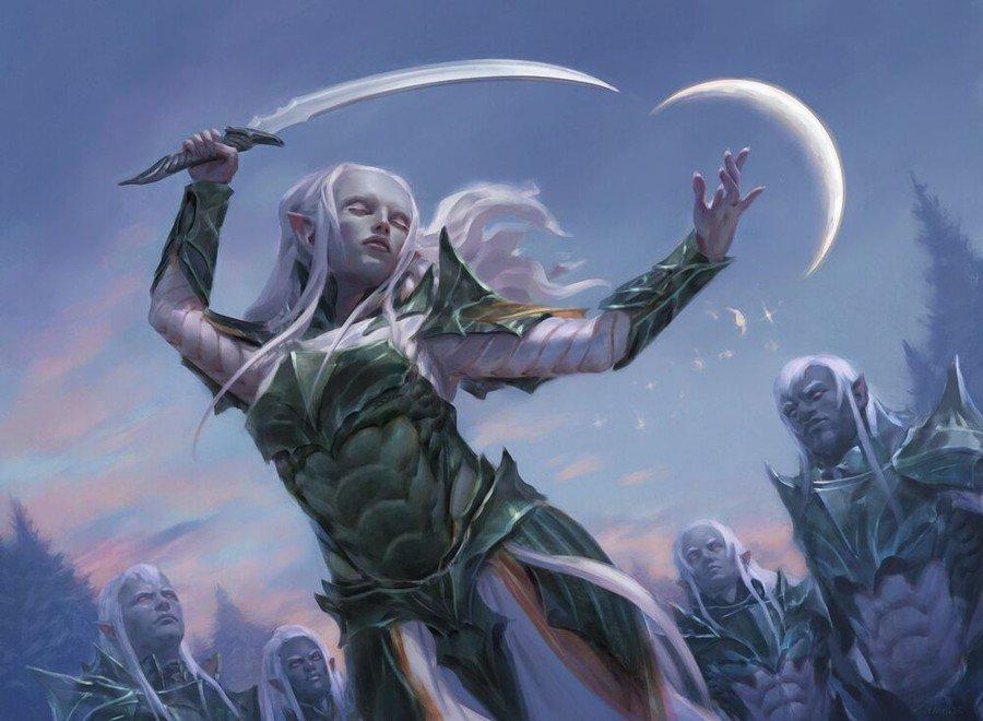 Budget Commander - Trelasarra, Moon Dancer