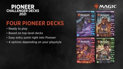 Evaluating and Upgrading the Pioneer Challenger Decks