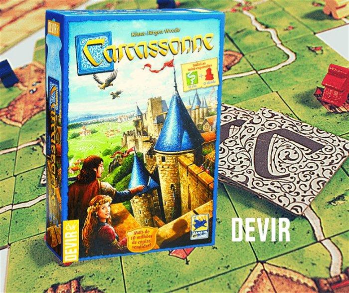 Review de Carcassonne – O jogo onde nenhuma partida será igual à outra