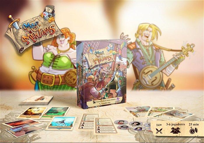 Saiba mais sobre Mar de Mentiras - O novo Boardgame de Piratas