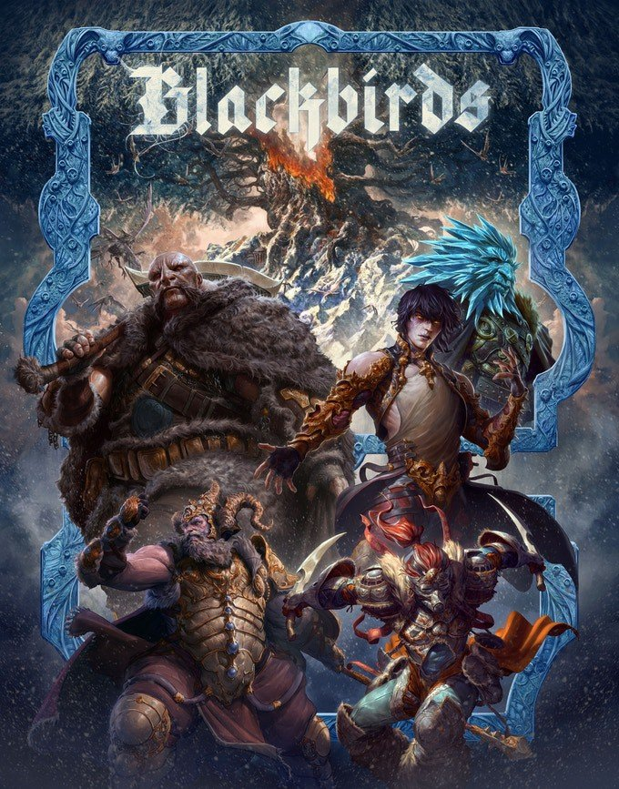 Financiamento de Blackbirds RPG - A obscuridade de um mundo de luzes