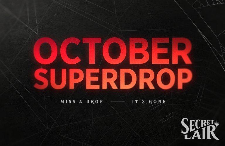 Wizards announces Secret Lair's October Superdrop
